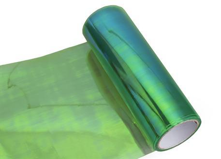 Transparentní fólie zelená ch. (fólie na světla chameleon zelená)