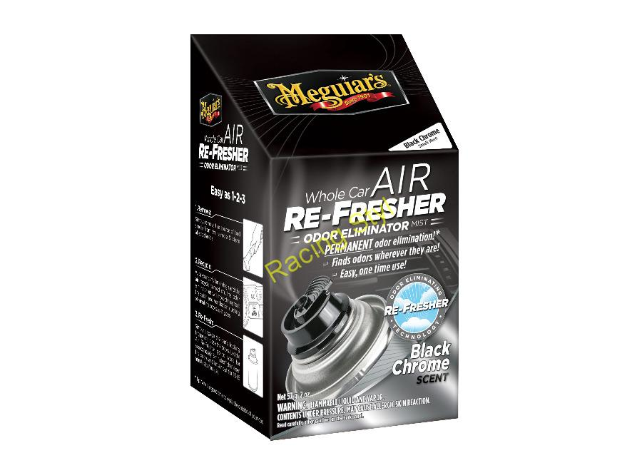 Dezinfekce klimatizace Meguiar's Air Re-Fresher Odor Eliminator - Black Chrome Scent