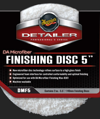 Meguiars DA Microfiber Finishing Disc 5-palcový