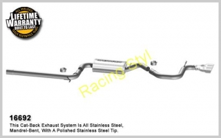 Magnaflow výfuk 16692 VW Golf 2,5L 2012-14; Rabbit 2.5L 2006-09