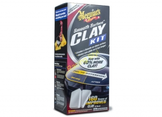 Meguiar's Smooth Surface Clay Kit - sada pro dekontaminaci laku