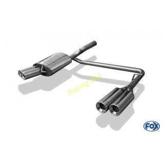VW Passat 3C/ 3C CC zadní tlumič výfuku FOX duální 2x90 mm