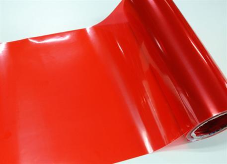 Transparentní fólie červená na světla (Folie na světla)