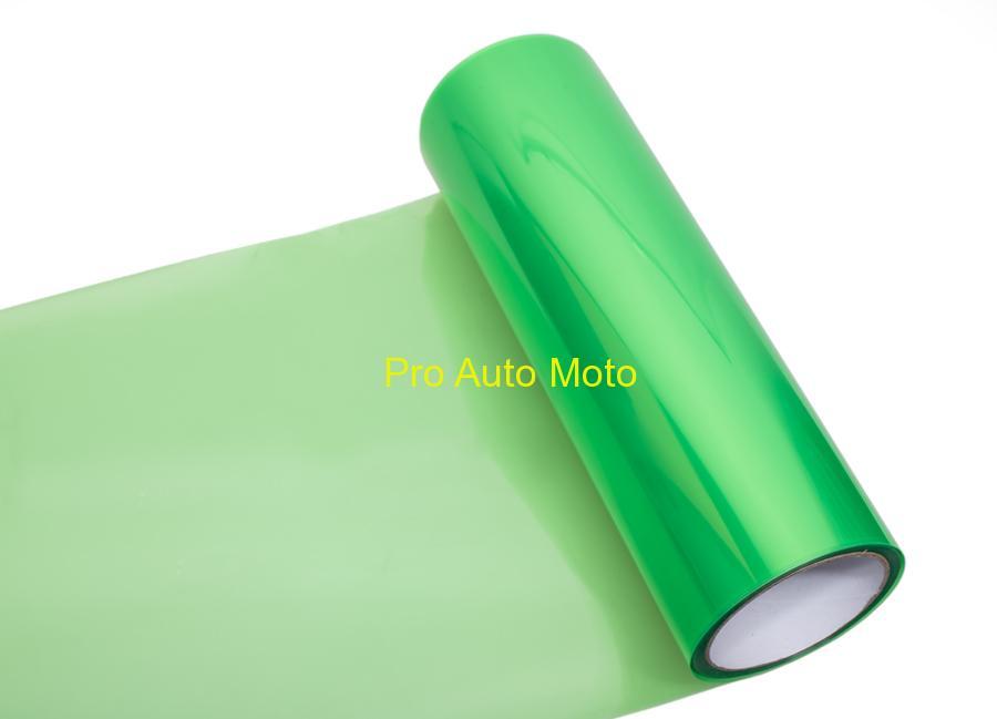 Transparentní fólie zelená (Folie na světla)