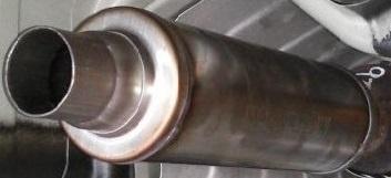 Sportovní výfuk Magnaflow Round Series 65 mm