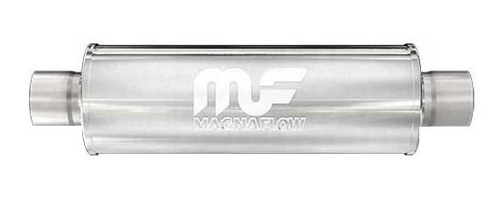 Sportovní výfuk Magnaflow Round Series 79 mm Leštěný