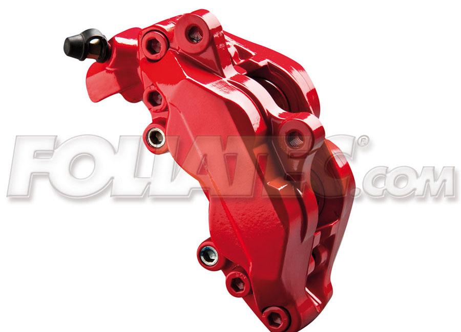 Barva na brzdy červená Foliatec (Racing Rosso Foliatec)