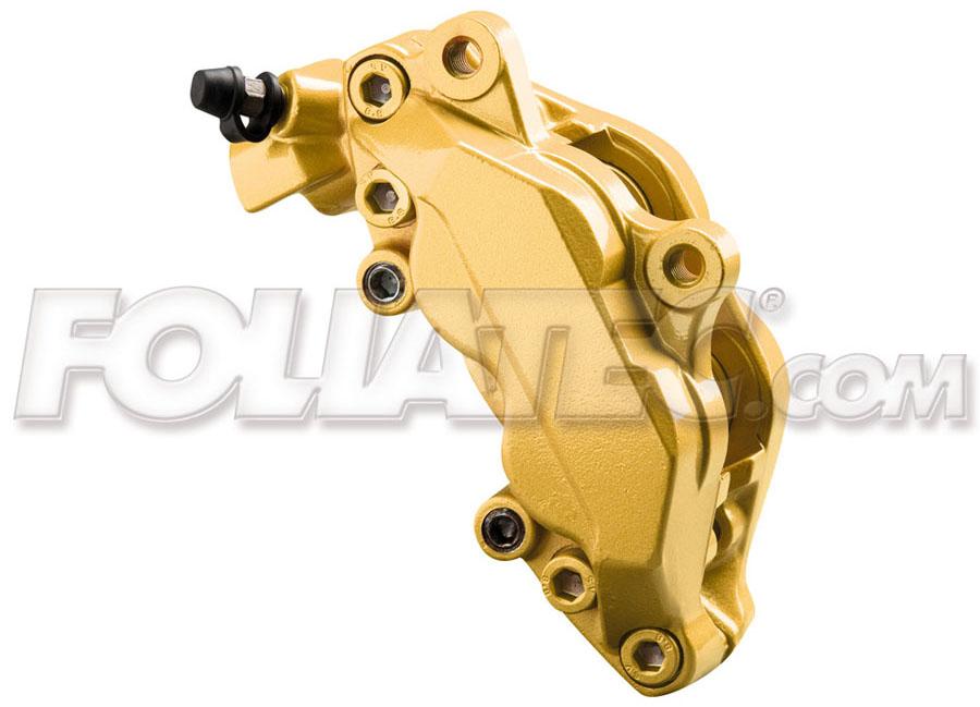 Barva na brzdy zlatá Foliatec Prestige Gold metallic (Prestige Gold metallic Foliatec)
