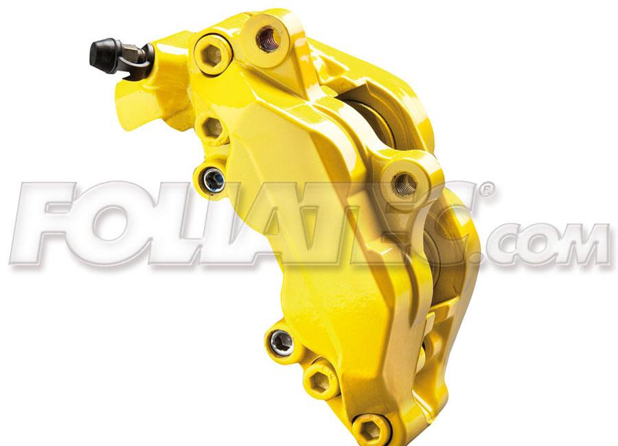 Barva na brzdy žlutá Foliatec (Speed Yellow)