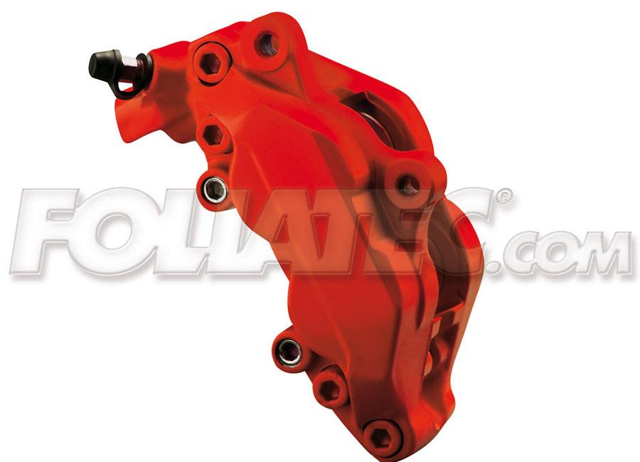 Barva na brzdy červená matná Foliatec (Racing Rosso mat. Foliatec)