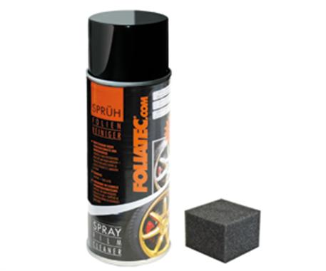 Čistič dip fólií ve spreji 400 ml Foliatec (Čistič plasti dip fólií Foliatec)