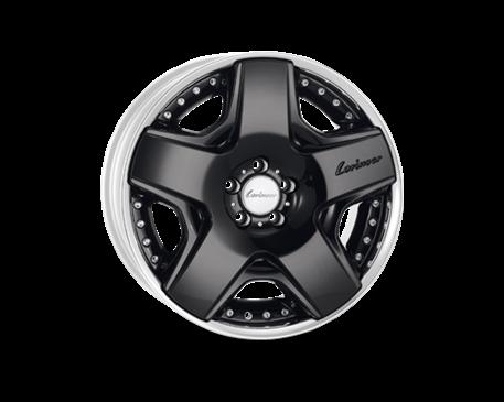 Lorinser RSK6 8,5x19 Alu kolo (Černé leštěné)