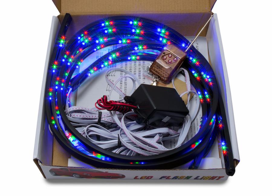 Flexibilní LED neony multicolor (s dálkovým ovládáním)