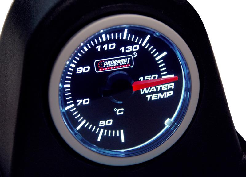 Smoke Lens přídavný ukazatel teploty vody 40-140st.
