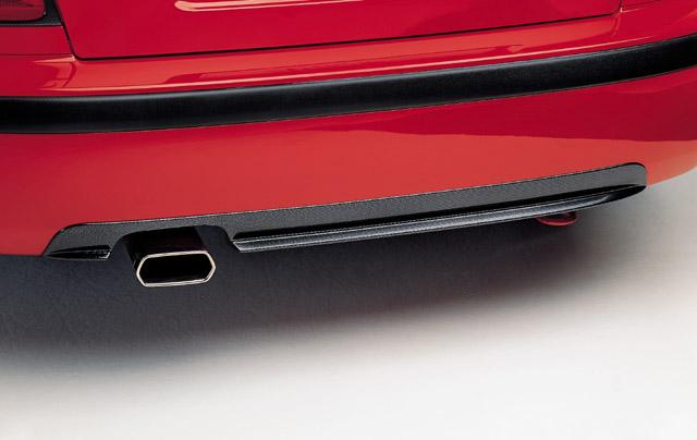 Difuzor zadního nárazníku - ABS černá metalíza Š. Octavia RS