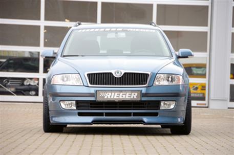 Spoiler pod přední nárazník Škoda Octavia II