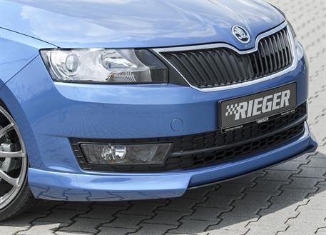 Spoiler pod přední nárazník Škoda Rapid