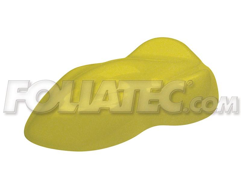 DIP stříkané fólie žlutozelená metalická mat. (900+100ml)