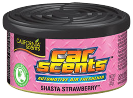 Osvěžovač vzduchu California Scents - Jahoda (Car Scents jahoda)