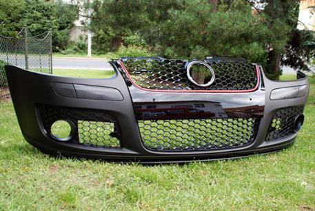 Golf V Přední nárazník - vzhled GTI (Kompletní přední nárazník)