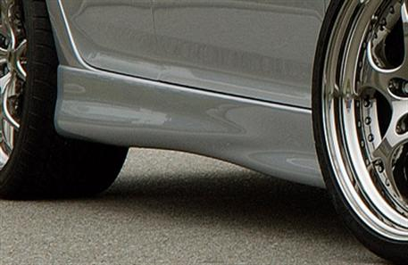 Golf V boční práhy pro 3 a 5 dveřové modely (bez prolisu)