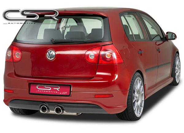 Golf V spoiler pod originální zadní nárazník - design R32 (design R32)