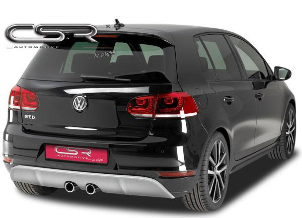 Golf VI spoiler v designu R32 pod originální zadní nárazník