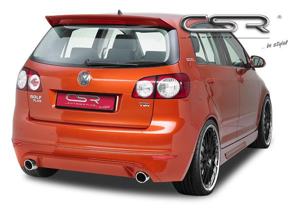 Golf Plus spoiler pod originální zadní nárazník (design GTi)