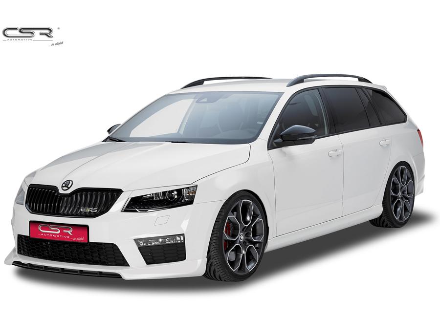 Š. Octavia RS spoiler pod originální přední nárazník