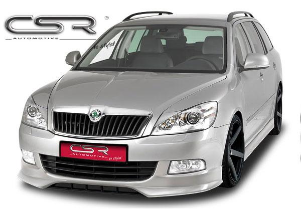 Š. Octavia facelift spoiler pod originální přední nárazník