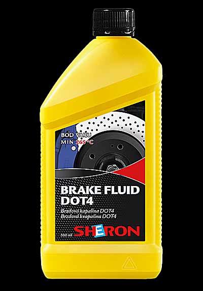 Brzdová kapalina DOT 4 500ml (DOT 4 500 ml)