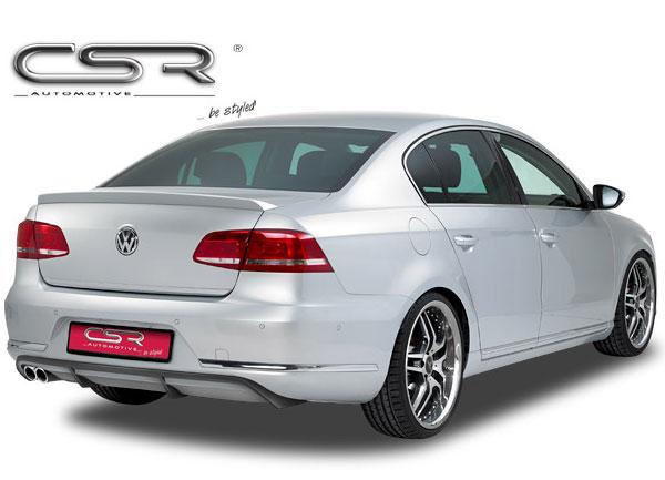VW Passat 3C Facelift spoiler pod originální zadní nárazník (Limousine)