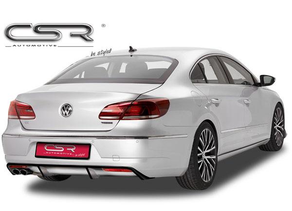 VW Passat Facelift spoiler pod originální zadní nárazník