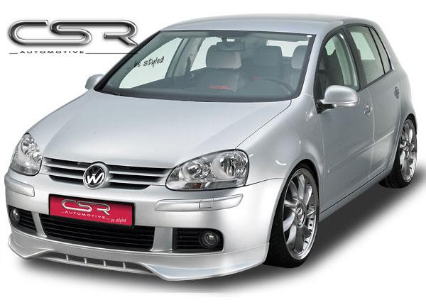 VW Polo IV Facelift spoiler pod originální přední nárazník (Polo IV 9N3 Facelift)