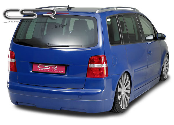 VW Touran spoiler pod originální zadní nárazník