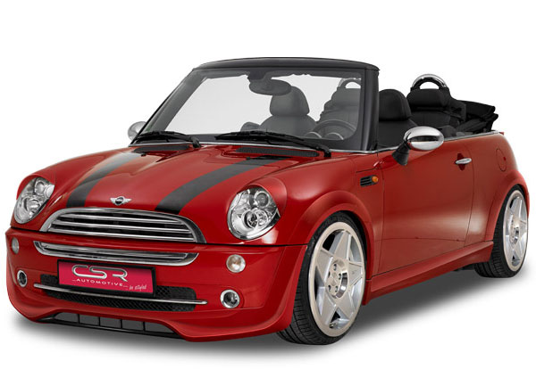Mini Cooper spoiler pod originální přední nárazník (Mini Cooper R50 / R52)