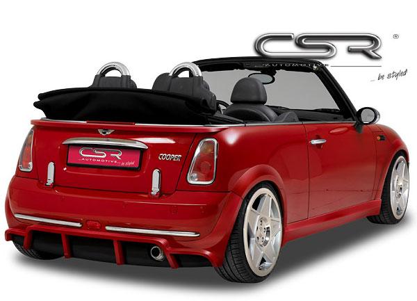 Mini Cooper spoiler pod originální zadní nárazník (Mini Cooper R50 / R52)