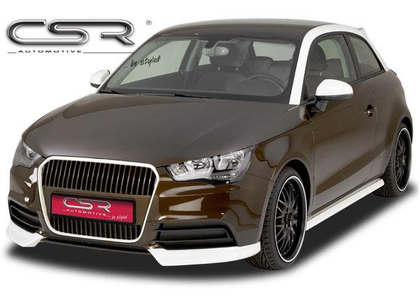 Audi A1 spoiler pod originální přední nárazník