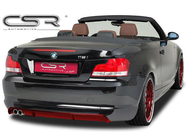 BMW 1 E82/E88 spoiler pod originální zadní nárazník