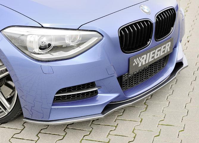 BMW 1 F20-F21 spoiler pod přední nárazník