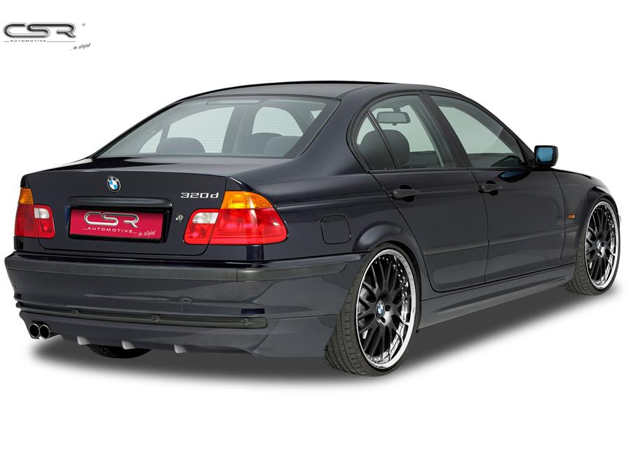 BMW 3 E46 spoiler pod originální zadní nárazník Limousine