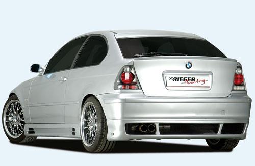 BMW E46 Compact spoiler pod zadní nárazník