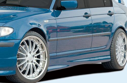 BMW 3 E46 Facelift boční nástavce práhů