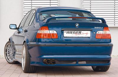 BMW 3 E46 Facelift spoiler pod zadní nárazník