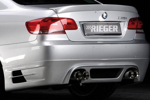 BMW 3 E92/E93 335i spoiler pod zadní nárazník