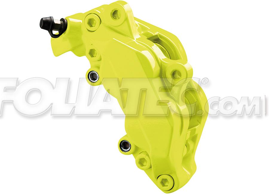 Barva na brzdy Žlutá neonová Foliatec (Foliatec neonová žlutá)