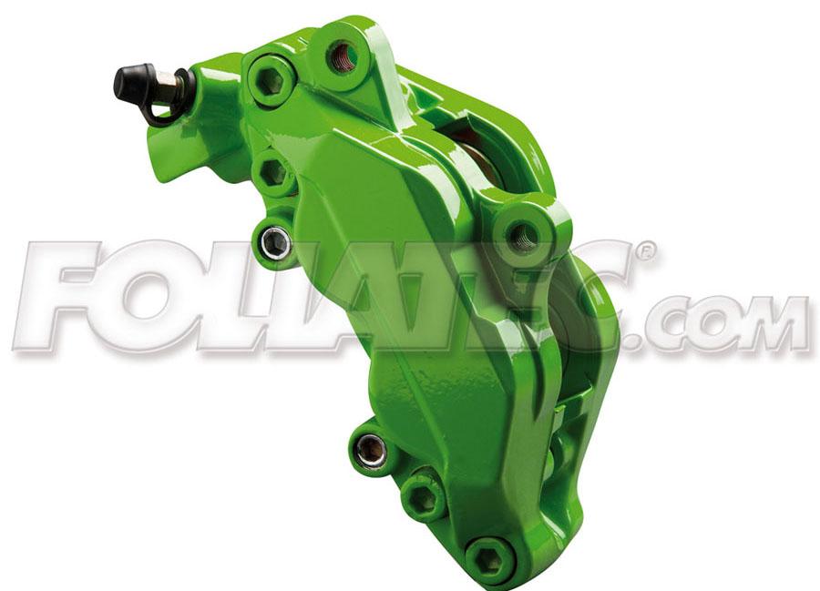 Barva na brzdy Zelená Foliatec (Power green)
