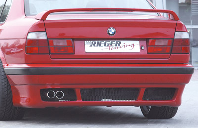 BMW 5 E34 spoiler pod zadní nárazník