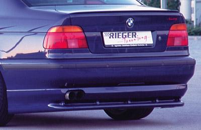 BMW 5 E39 spoiler pod zadní nárazník