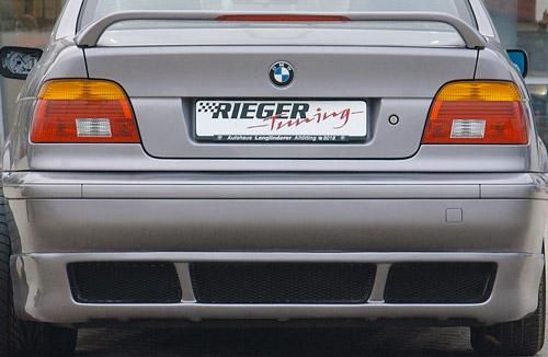 BMW 5 spoiler pod zadní nárazník